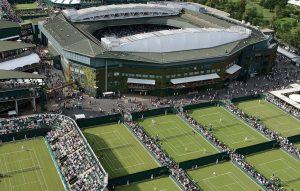Tennia at Wimbledon